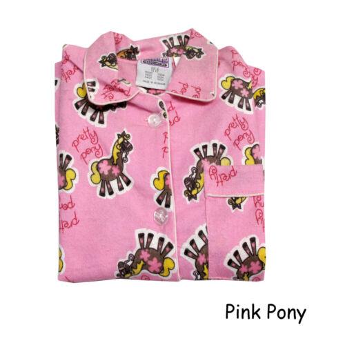 Children Girls 100/% Cotton Flannelette Pyjamas Size 3 4 5 8 10 12 14