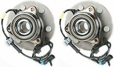 Hub Bearing for 2000 Chevrolet Silverado 1500 4WD/AWD ONLY-6 STUD Front Pair