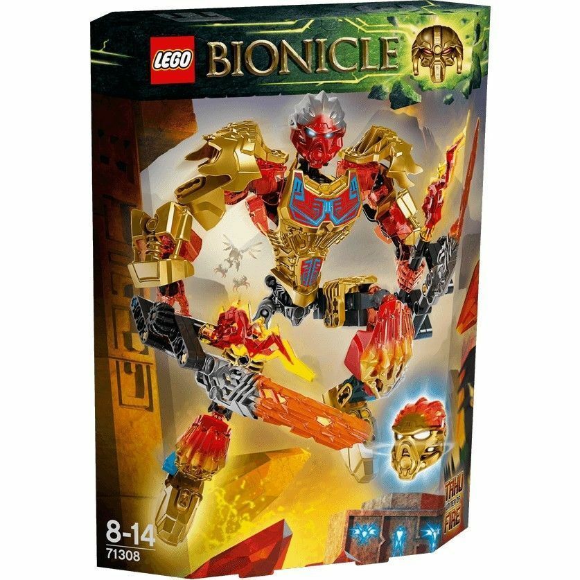 LEGO Bionicle Tahu Uniter of Fire 71308 NEW SEALED