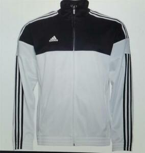Detalles de Adidas Hombre 3 Raya Calentamiento Chaqueta de Chándal Baloncesto ai4700 Nuevo S