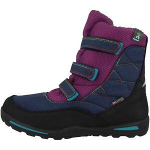 Kamik Hayden Bottes Enfants Bottes D'hiver Chaussures D'hiver Bottes Grape Nf8118-gra-afficher Le Titre D'origine Artisanat Exquis;
