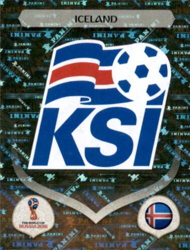 PANINI WM 2018 World Cup Russia Adesivo 292-Island-EMBLEMA-Islanda