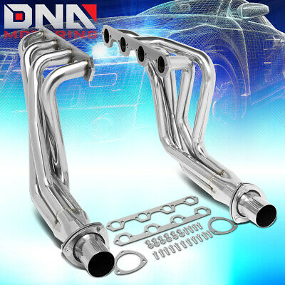 Pair Stainless Steel Exhaust Manifold Header for Ford F100 5.0L V8 Engine 302 RWD 69-79