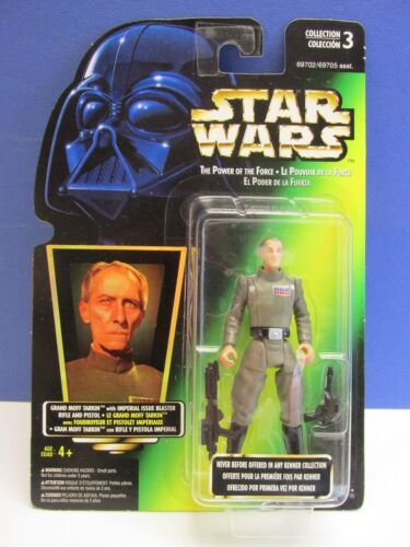 star wars POWER OF THE FORCE ACTION FIGURE potf 2 GREEN CARD 1996 kenner VINTAGE