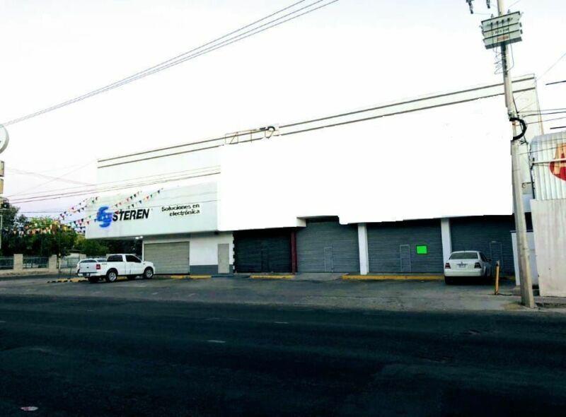 Locales comerciales en renta en Colonia San Benito en Hermosillo, Sonora.