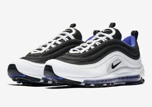 Nike Men's Air Max 97 Casual Shoes WhiteBlackPersian Violet