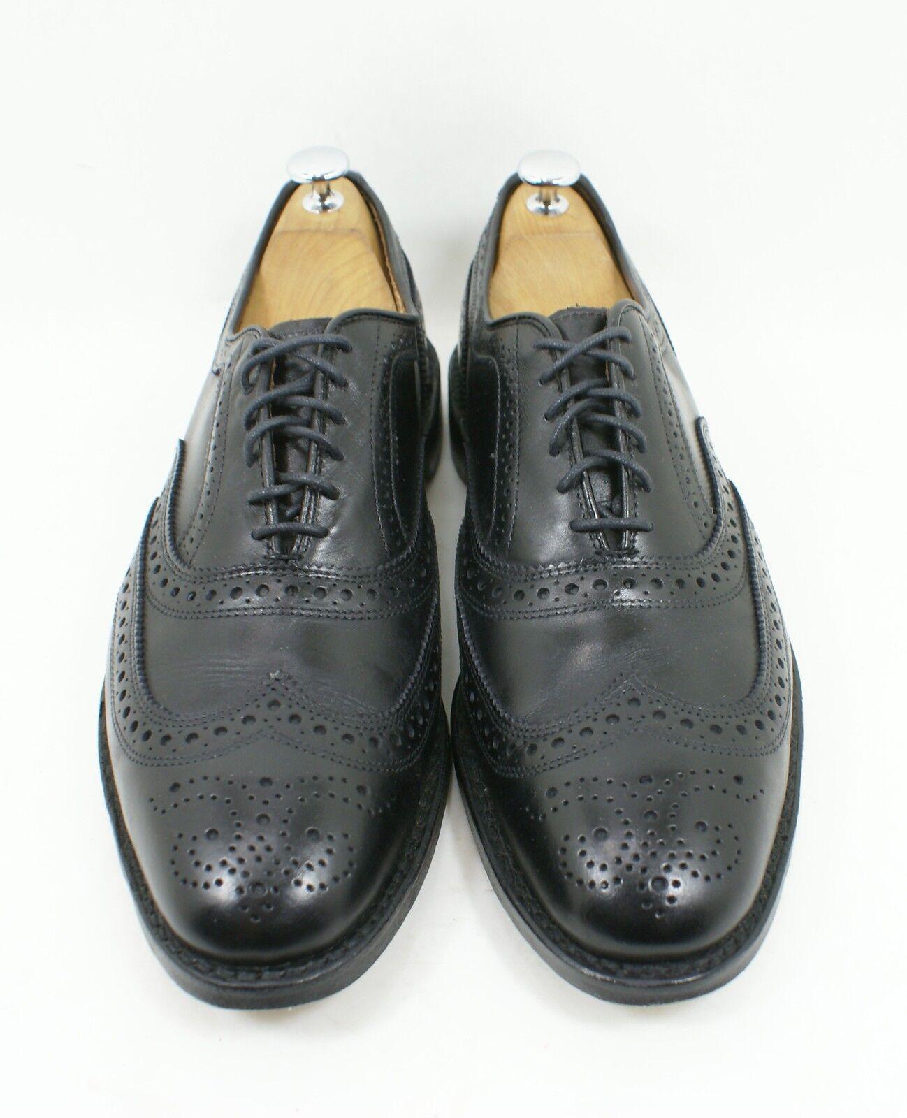 Allen Edmonds 'McAllister' Oxford nero Leather Dimensione 10.5 10.5 10.5 D Made In USA 824f60