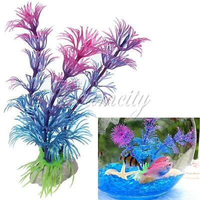 Artificial Plastic Water Plant for Aquarium Decoration Grass Fish Tank Ornament