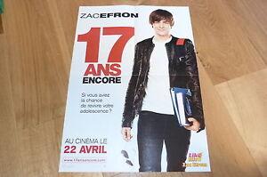 Zac-Efron-17-Anos-Noch-Poster-Au-Verso-Miley-Cyrus
