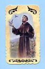 SANTINO SAN FRANCESCO D'ASSISI IMAGE PIEUSE - HOLY CARD SANTINI