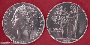 C38 Italy Italia Repubblica Italiana 100 Lire Minerva I 1972 Km 96.1 Fdc Unc F74uap3o-07233749-218301569