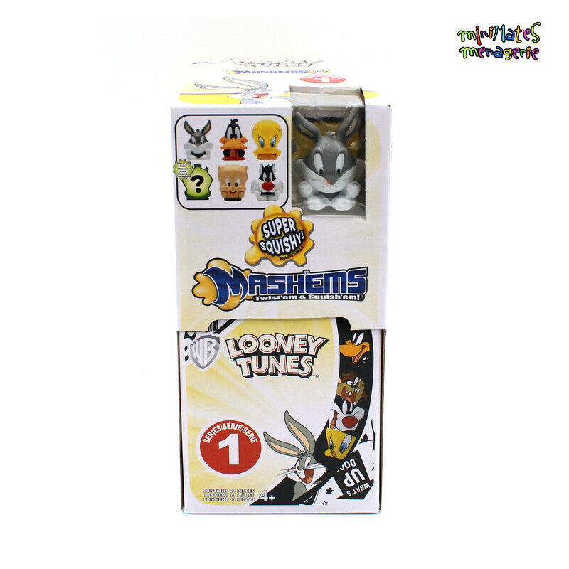 Mashems Looney Tunes Series 1 Sealed Case of 24