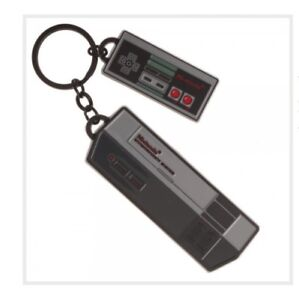 RETRO-Nintendo-NES-Console-KeyChain-Metal-Officially-Licensed-Gaming-Accessory