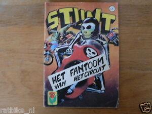 STUNT-COMIC-DUTCH-NO-48-FANTOOM-VAN-HET-CIRCUIT-BIKER-COMIC