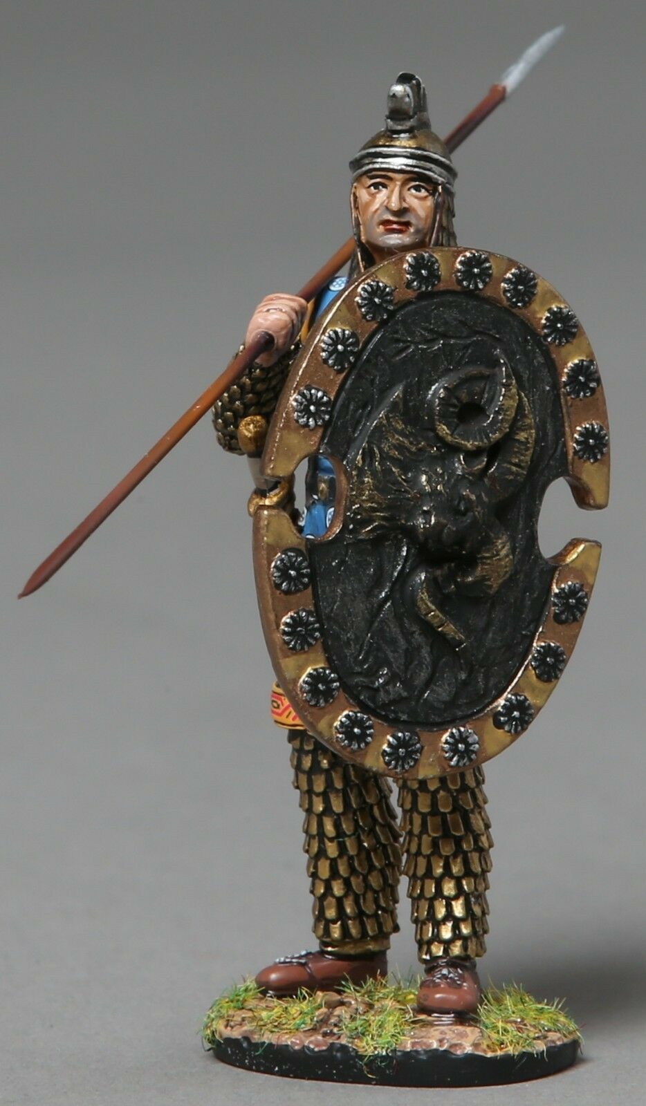Thomas Gunn Alte Greeks & Persians XE011A Persische Infanterie Rams Kopf MIB