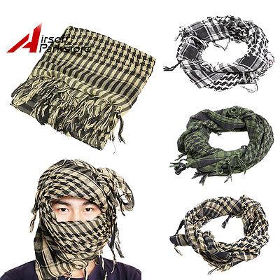 Tactical Shemagh KeffIyeh Arab Scarf Veil Army Military Desert Shawl Head Wrap