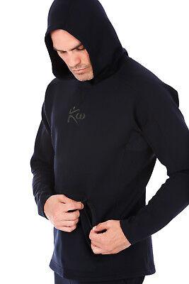 Kutting Weight Sauna Suit Weight Loss All-Black Neoprene Beanie Hat