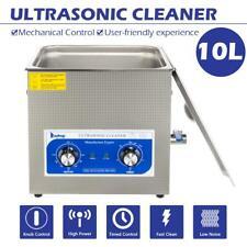 Industrial Grade Ultrasonic Cleaner Heater For Lab Dental 10l