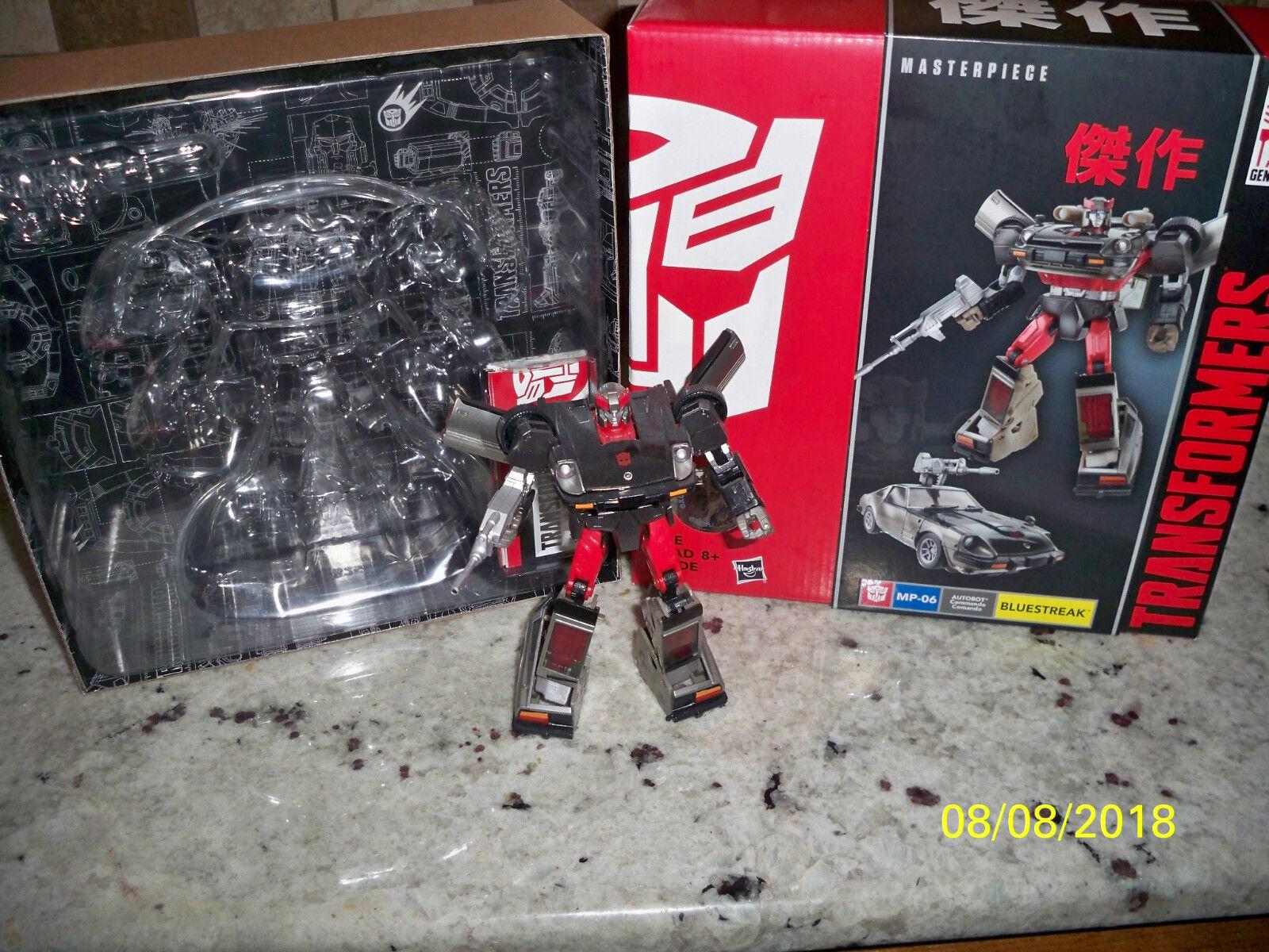 Transformers Takara Hasbro azulstreak Plata Y Rojo g1