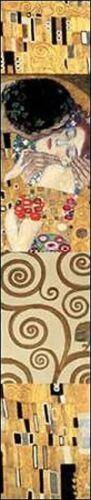 Gustav Klimt Klimt Panel II Keilrahmen-Bild Leinwand Klassiker Art Deco