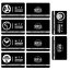 miniature 6 -  SCP Foundation Keycards sticker pass 10pcs PLASTIC CARD cosplay games gift