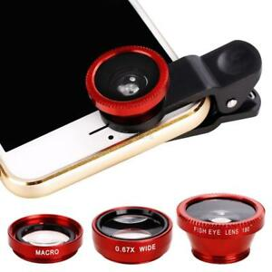 Smart-Phone-Camera-Lens-Universal-3-in-1-Clip-On-Kit-Wide-Angle-Fish-Eye-Macro