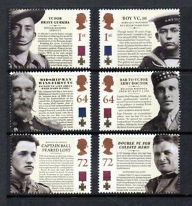 2006 150th ANNIVERSARY OF VICTORIA CROSS Singles Stamp Set MNH SG 2659-2664 GB