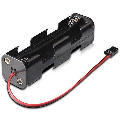 Batteriebox 8 Aa Mignon Jr Spina Per Trasmettitore Partcore 150115-mostra Il Titolo Originale