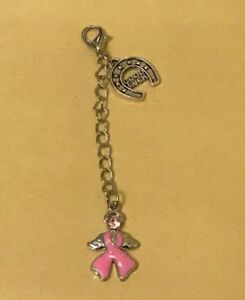 1-X-Cancer-Ribbon-With-Angel-Wings-Fighter-Survivor-Hope-Good-Luck-Clip-on-Charm