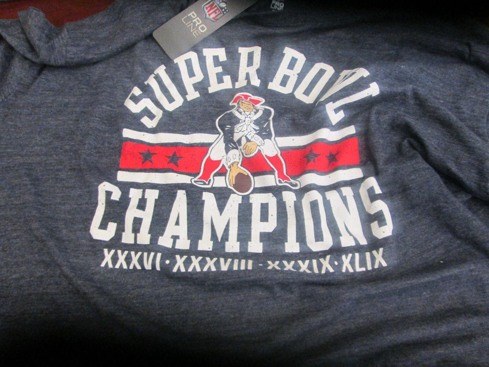 NFL- NEW TIME ENGLAND PATRIOTS S.B. 4 TIME NEW CHAMPIONS -SEASON TICKET  SZE XL LONSLEEVE dc8a14