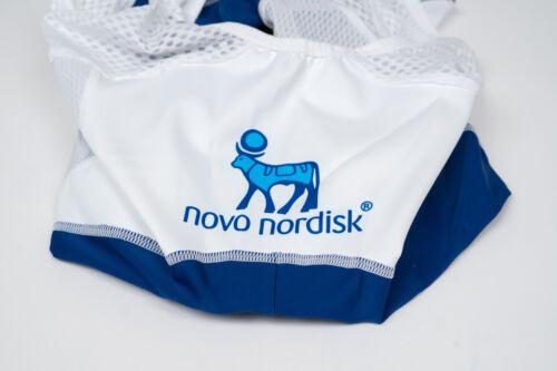 New 2017 Men/'s Craft Novo Nordisk Tresiba EBC Mesh Cycling Bib Shorts XS