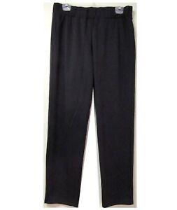 Women-039-s-Black-Elastic-Waist-Pull-On-Comfy-Tapered-Leg-Pants-Size-L-XL-1X