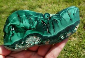 CHATOYANT-MALACHITE-SLICE-AFRICA-BEAUTIFUL-PATTERNS-1-SIDE-POLISHED-1