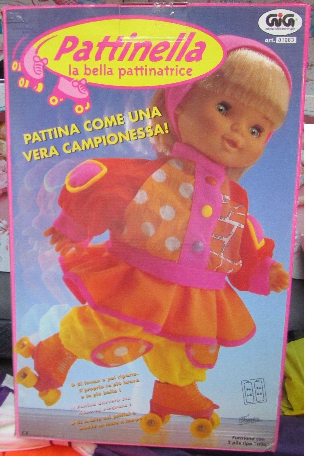 Pattinella la bella pattinatrice GIG SPESE GRATIS bambola fondo di magazzino