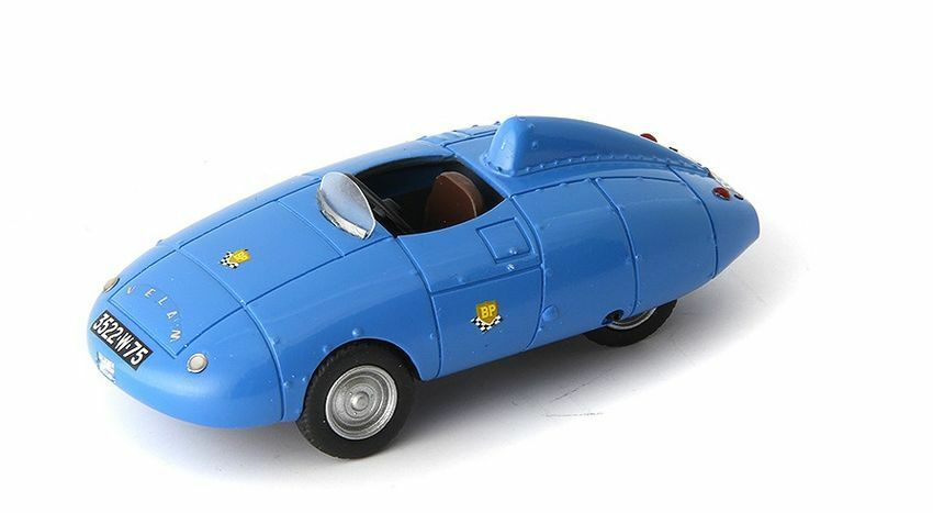 Velam Isetta Voiture De Record 1957 Light blu 1:43 Model AUTOCULT