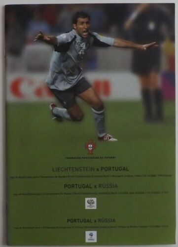 Portugal International Football Programmes *select opponents from list*