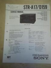 Sony Service Manual~STR-A17/D159 Receiver~LBT-A17CDM~159CD/D220CD~Repair