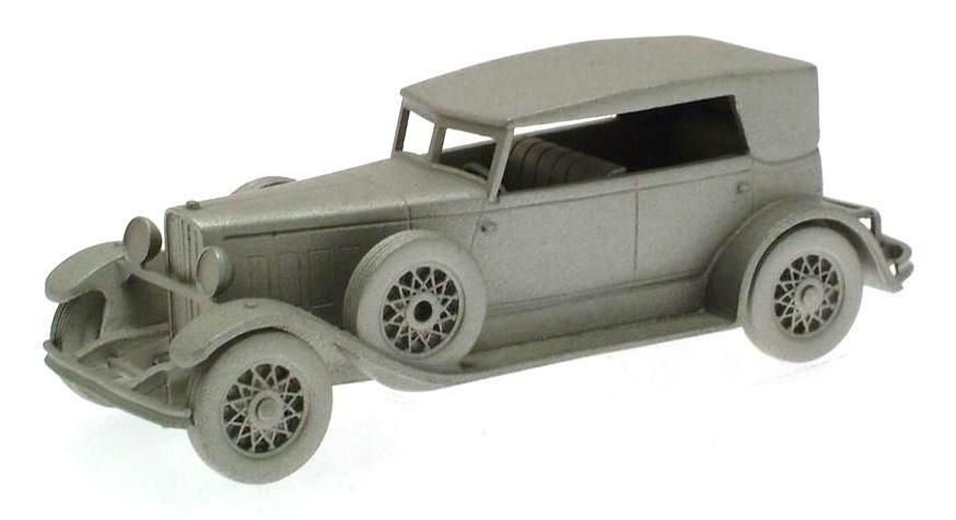 Danbury Mint authentic scale replica pewter car Lincoln KB 1932
