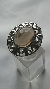 JEWELLERY-925-Sterling-Silver-and-Smoky-Quartz-Ring