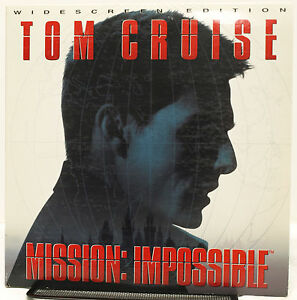 Details about Mission: Impossible (1996) - Laserdisc - Widescreen THX  Edition - Tom Cruise