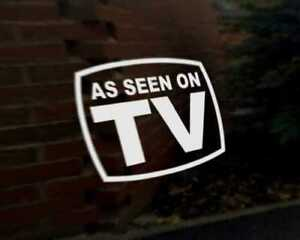 AS-SEEN-ON-TV-car-vinyl-decal-vehicle-bike-graphic-bumper-sticker