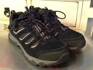 Mount Hombres Low Navy 43 Weather cordones Zapatos impermeables us Tamaño 10 con Karrimor d7qwd