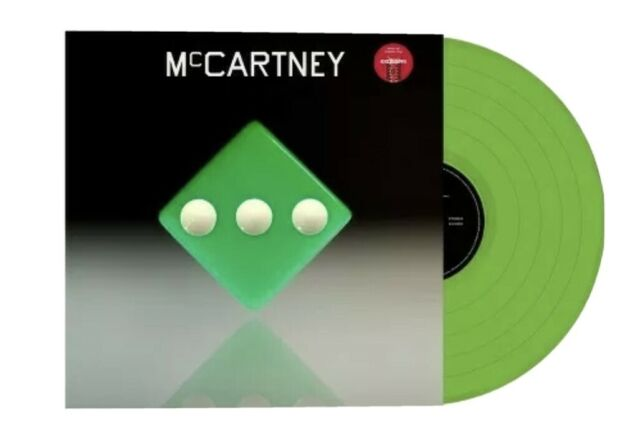 PAUL McCARTNEY III 3 Target Exclusive LP Vinyl Green Limited Edition LP IN-HAND