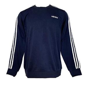 Adidas Essentials 3 Stripes Crew Sweatshirt Schwarz