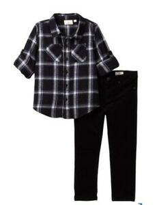 80967d2be83 Image is loading NWT-Plaid-Flannel-Shirt-amp-Corduroy-Pants-Set-