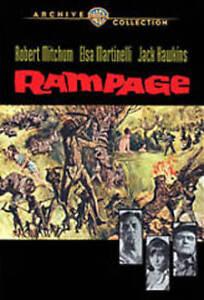 RAMPAGE NEW DVD