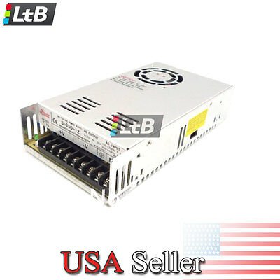pa12V DC 30A 360W New Regulated Switching Power Supply for LED Strip Light Metal