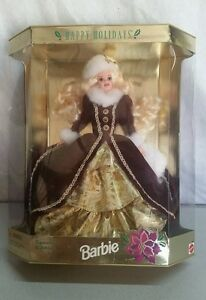 1996 HAPPY HOLIDAYS BARBIE SPECIAL EDITION BLONDE HAIR IN BOX