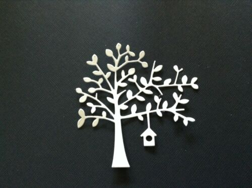 10 x Tree with birdhouse die cuts**FREE UK POSTAGE***