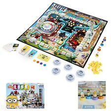 NEW Despicable Me Minion The Game of Life Game Blue Family Fun Board Game